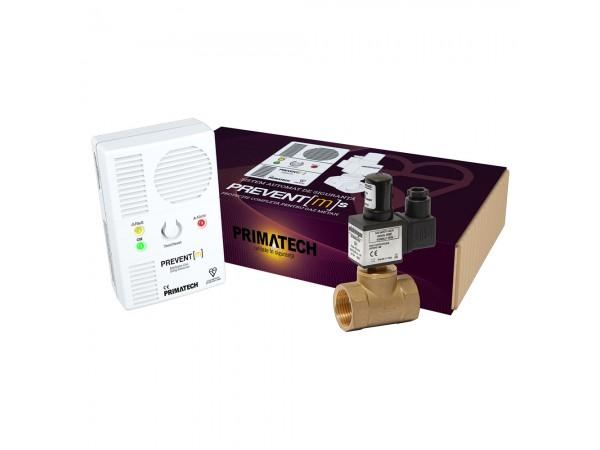 Detector de gaz metan Prevent M cu electrovalva de 1, echipament complet, transport gratuit